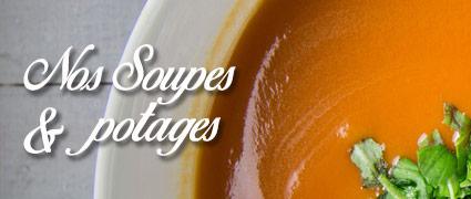 Découvrez toutes nos soupes et potages, fabrication artisanale Normande